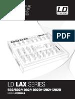 LDLAX602 LD Systems Bedienungsanleitung en de Fr Es It Pl