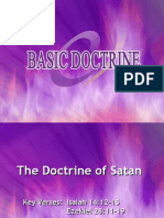 the Doctrine of Satan
