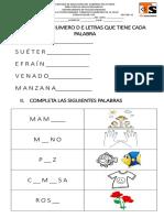 Examen de Español Efrain