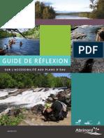 Guide de Réflexion Accessibilité