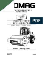 BW212D-40 Operacion y Mantencion