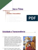 Trindade 02 Unicidade e Transcendenc