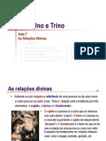 Trindade 07 Relacoes Divinas