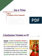 Trindade 04 No Novo Testamento