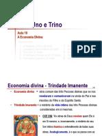 Trindade 10 Economia Divina