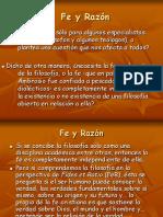 08 Fe y Razón