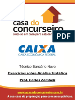 Apostina CEF 2015 - Exercícios Carlos Zambeli