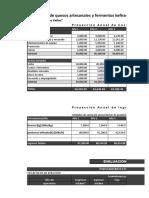 Queseria de Los Valles_índice Beneficio Costo