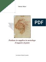Perdono in Supplica in Monologo d'Augurio Al Pasto