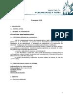 Programa Ibero II 2018