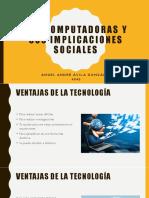Las Computadoras y Sus Implicaciones Sociales
