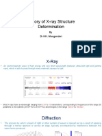 Theory of X-ray Structure Determination