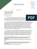 Elizabeth Warren Letter to VA