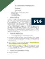 Modelo Informe Psicologico