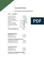Calculo Hidraulico Sistema de Agua Las Lomas-region