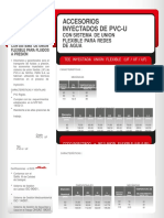 Ficha Técnica Conexiones Inyectadas UF Sist. Presion 1452 NICOL