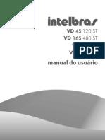 Manual_do_usuário_VD 4S 120 ST - Gravador digital de vídeo (DVR)_Português