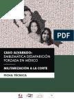 Militarización a  la Corte | Caso Alvarado
