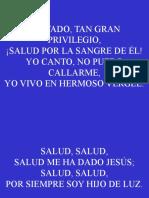 136;Salvado, Tan Gran Privilegio