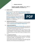 03.Memoria Descriptiva PALTARUMI SAC