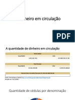 apresentação Economia Pol - O dinheiro em circulação no Brasil