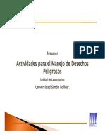 Microsoft PowerPoint - Presentación Avances Manejo Matpel USB