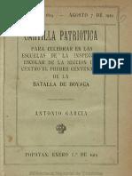 Cartilla Patriotica 1919