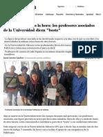 Docentes a 5 Euros La Hora_ Los Profesores Asociados de La Universidad Dicen _basta