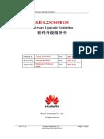 KII-L23C469B130 LA Channel Software Upgrade Guideline