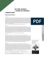 Echeverri - 2009 - Investigación sobre redes sociales y emprendimiento revisión de la literatura y agenda futura