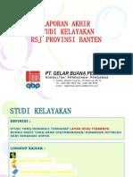 Presentasi Laporan Akhir FS RSJ Provinsi Banten-221215