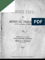 Codigo Civil Del Magdalena 1857