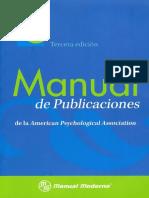 Manual APA 6ta (3era Esp) 2010 Completo