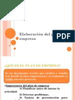 Elaboración Del Plan de Empresa