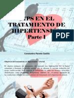 Constantino Parente Castillo - Tips en El Tratamiento de Hipertensión, Parte I