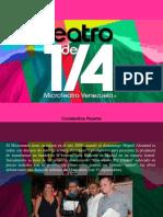 Constantino Parente - Teatro de un cuarto, Microteatro Venezuela
