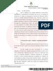 Resolución del juez Martínez de Giorgi