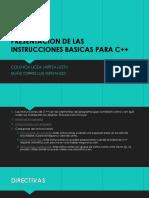 Estructura Basica Para c 18