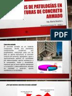 Análisis de Patologías en Estructuras de Concreto Armado