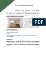 Estudio de Mercado de Departamentos 2018