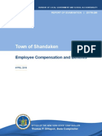 Town of Shandaken Employee Compensation and Benefits