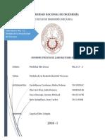 ML313 Informe Previo 2 Medida de Resistividad Del Terreno