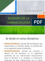 División Farmacología