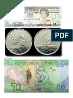Monedas d e Oceania