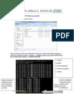 Medición de Enlace a Través de IPERF 1.0