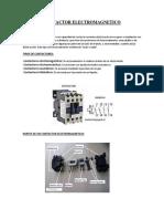 Contactor Electromagnetico