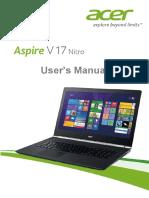 Acer v17 Nitro User Manual
