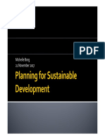 Planning for Sustainable Development 21Nov2017