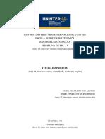 Modelo de Relatorio ESPU PBL V3