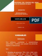 9. Variables